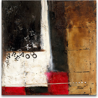 Red Contemporary IV preview