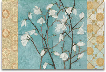 Patterned Magnolia Branch preview