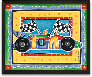 Race Car 10x8 preview