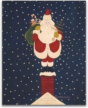 Chimney Santa preview