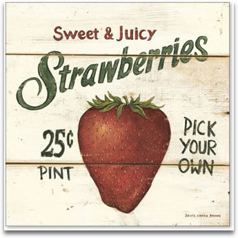 Sweet And Juicy Strawberries preview