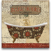 Postcard Bath II