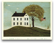 House With Flag P-2-0903