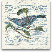 Monument Etching Til...<span>Monument Etching Tile II Blue Bird- 12x12</span>