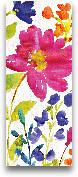 Floral Medley Panel ...<span>Floral Medley Panel I - 8x20</span>