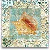 Shell Tiles IV Blue ...<span>Shell Tiles IV Blue - 12x12</span>