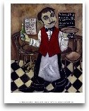 French Waiter III