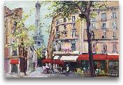 Springtime In Paris ...<span>Springtime In Paris - 36x24</span>