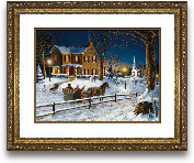 16x20 Home For The H...<span>16x20 Home For The Holidays Framed Art</span>