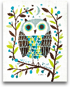 Night Owl I - 11x14