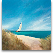 Sunday Sail - 24x24