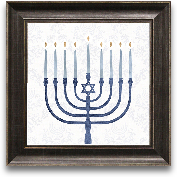 12x12 Sophisticated ...<span>12x12 Sophisticated Hanukkah II Framed Art</span>
