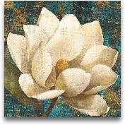 Magnolia Blossom Tur...<span>Magnolia Blossom Turquoise - 24x24</span>