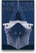 Passage Atlantique B...<span>Passage Atlantique Blueprint - 24x36</span>