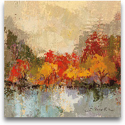 Fall Riverside II - ...<span>Fall Riverside II - 18x18</span>