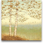 Golden Birch I With ...<span>Golden Birch I With Blue Sky</span>
