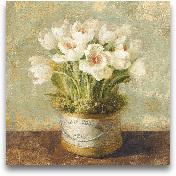 Hatbox Tulips