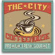 Coffeehouse I - 12x12