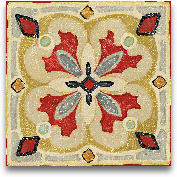 Bohemian Rooster Til...<span>Bohemian Rooster Tile Square III - 12x12</span>