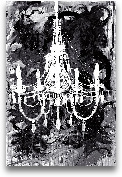 Chandelier Black And...<span>Chandelier Black And White - 24x36</span>