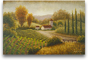 Vineyard In The Sun II