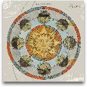 Solar Calendar - 18x18
