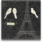 Love Paris I - 12x12
