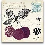 Cherry Notes - 12x12