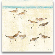 Sandpipers - 35x35