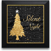 12x12 Gold Tree Sile...<span>12x12 Gold Tree Silent Night Square Framed Art</span>