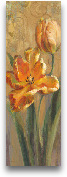 Parrot Tulips On Gold I