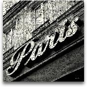 Newsprint Paris - 27x27