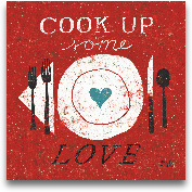 Cook Up Love - 12x12
