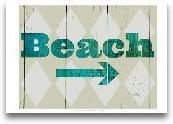 Sign - Beach