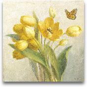 Yellow French Tulips...<span>Yellow French Tulips - 27x27</span>