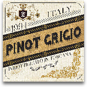 Wine Labels IV - 12x12