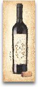 Vintage Rouge Bottle...<span>Vintage Rouge Bottle -  8x20</span>