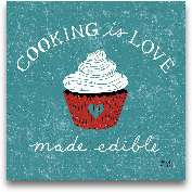 Cooking Is Love - 12x12