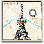 Monuments Des Paris ...<span>Monuments Des Paris Eiffel - 12x12</span>