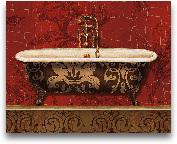 Royal Red Bath I