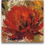 Fiery Dahlias II - C...<span>Fiery Dahlias II - Crop 12x12</span>