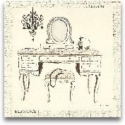 Emily's Boudoir III ...<span>Emily's Boudoir III Table - 12x12</span>