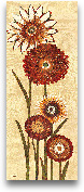 Happy Flowers Neutra...<span>Happy Flowers Neutral Panel II - 8x20</span>