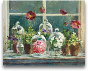 Purple Poppies Windo...<span>Purple Poppies Windowsill - Detail</span>