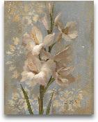 Gladiola On Soft Blu...<span>Gladiola On Soft Blue - Original 11x14</span>