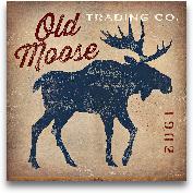 Old Moose Trading Co...<span>Old Moose Trading Co.Tan - 18x18</span>