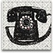 Vintage Analog Phone...<span>Vintage Analog Phone - 12x12</span>