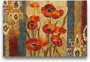 Ikat Floral Tapestry...<span>Ikat Floral Tapestry 36x24</span>