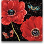 Petals And Wings II ...<span>Petals And Wings II - 18x18</span>