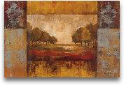 Landscape In Gold